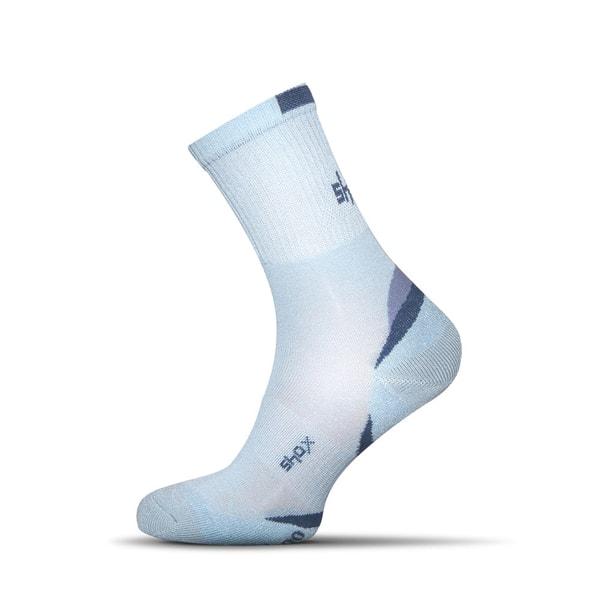 Nebesky modré pánske bambusové ponožky