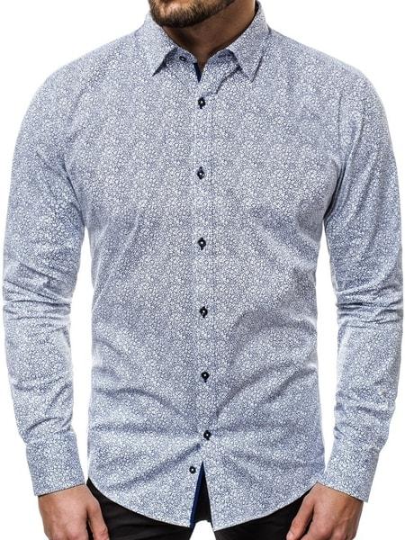 Vzorovaná pánska košeľa V/K62