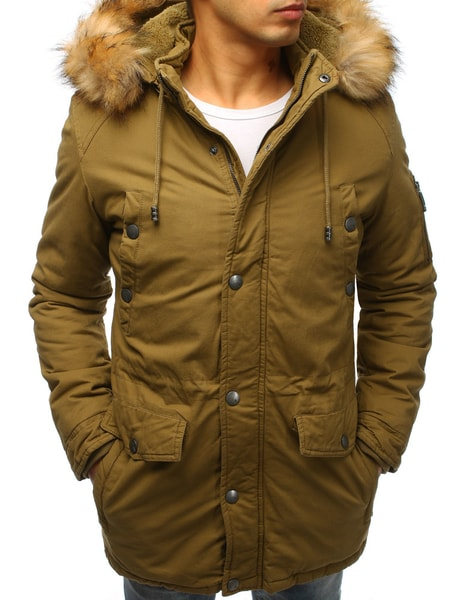 Khaki zimná originálna bunda