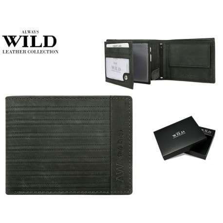 Zaujímavá čierna pánska peňaženka