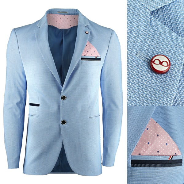 Svetlo-modré sako
