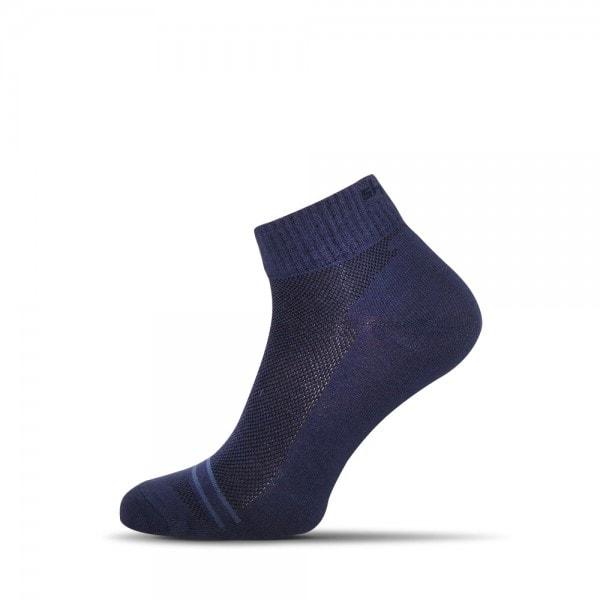 Vzdušné modré pánske ponožky