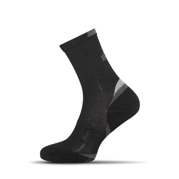 Čierne bambusové ponožky Clima