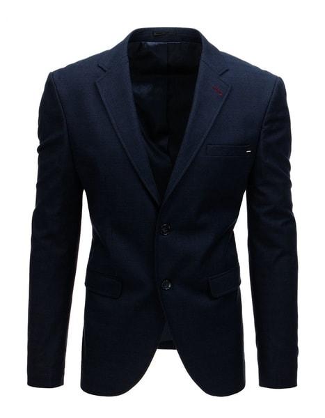 Pánske granátové pohodlné sako