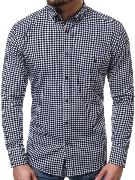 Pánska kockovaná košeľa V/K87