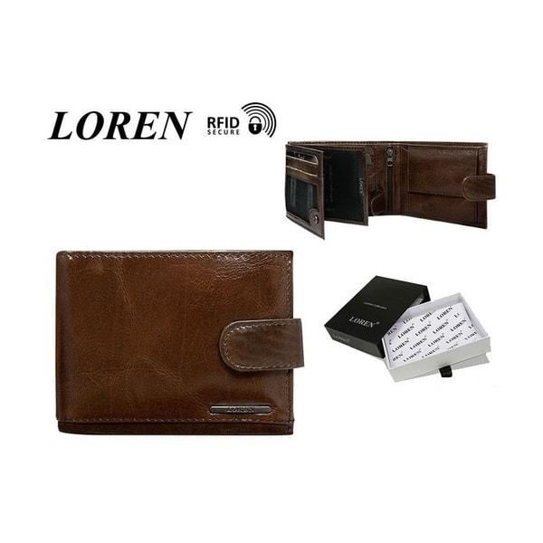 Exkluzívna pánska hnedá peňaženka