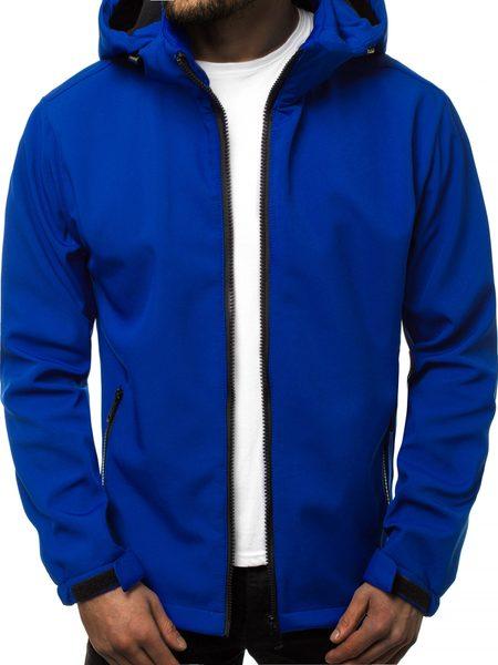 Softshell bunda modrá JS/56008