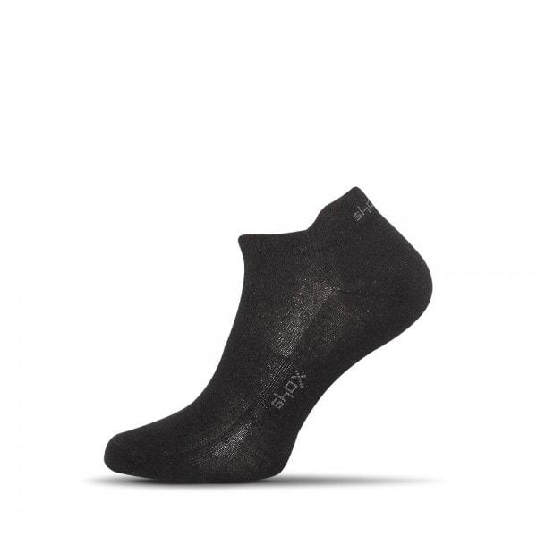 Čierne pánske členkové ponožky