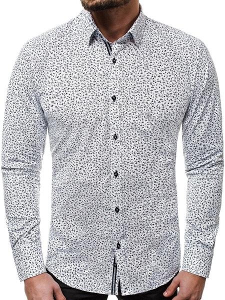 Biela pánska košeľa V/K80