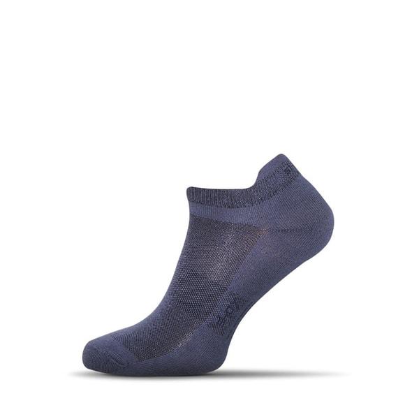 Pánske členkové ponožky farba jeans