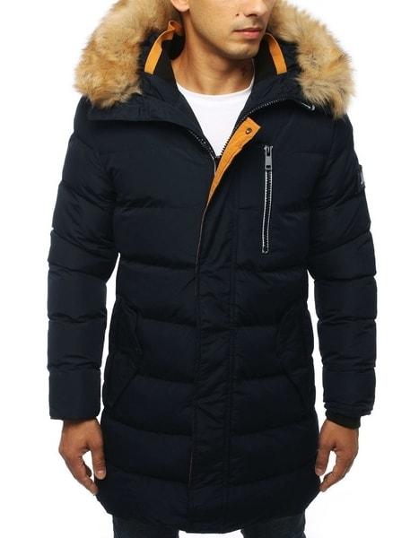 Zimná granátová prešívaná bunda