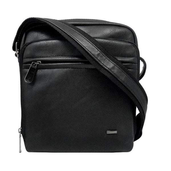 Trendy čierna pánska taška