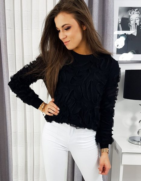 Dámsky sveter čierny