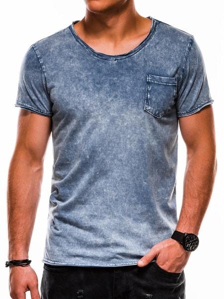 Bavlnené granátové tričko s1050