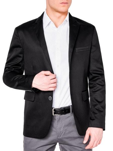 Čierne elegantné sako m155