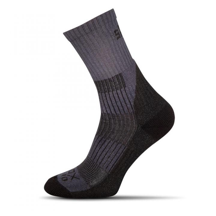 vysoké šedé pánske ponožky