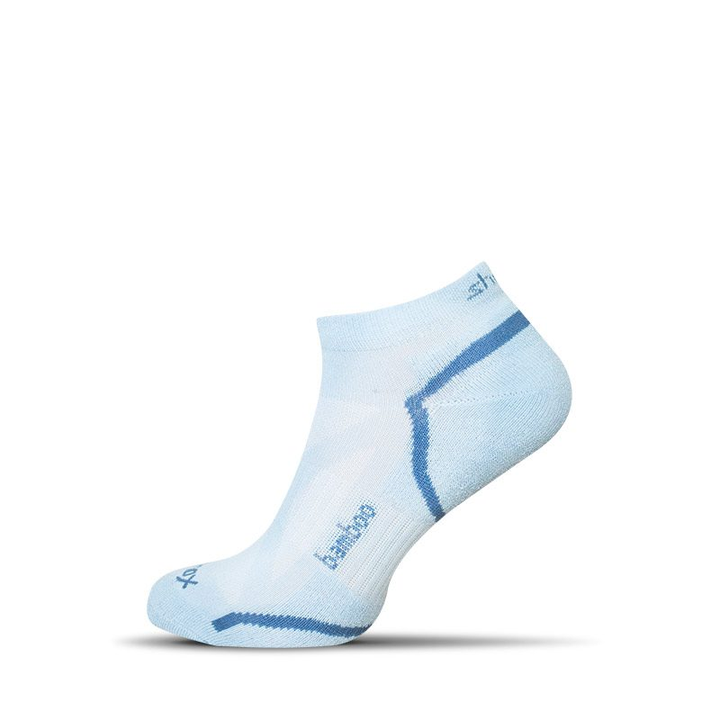 biele členkové bambusové pánske ponožky