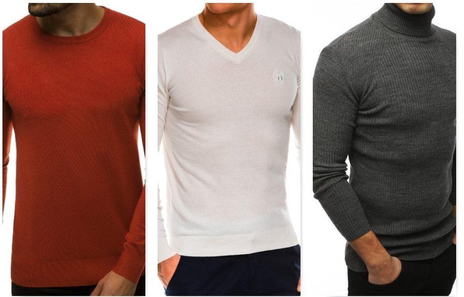 pánske moderné svetre