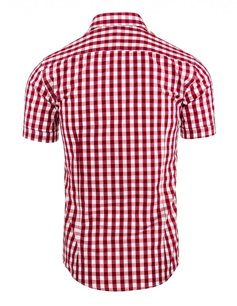 2926b1ea34c1 Károvaná červená košeľa - Budchlap.sk