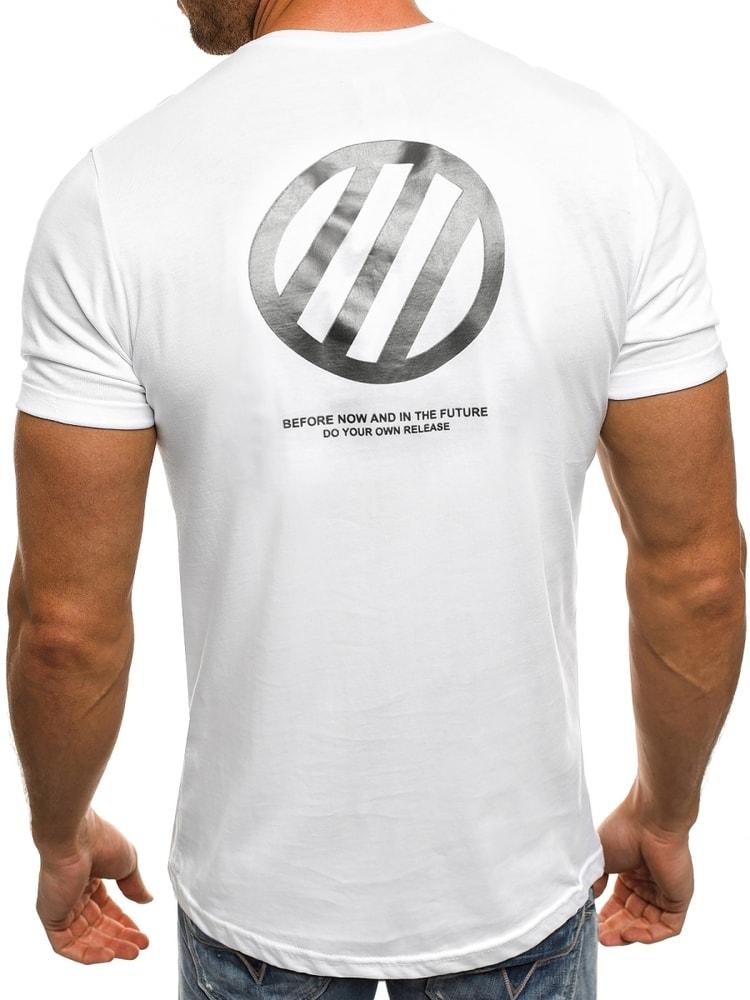 88f08103e UNKNOW bavlnené pánske tričko s potlačou J.STYLE SS090 - Budchlap.sk