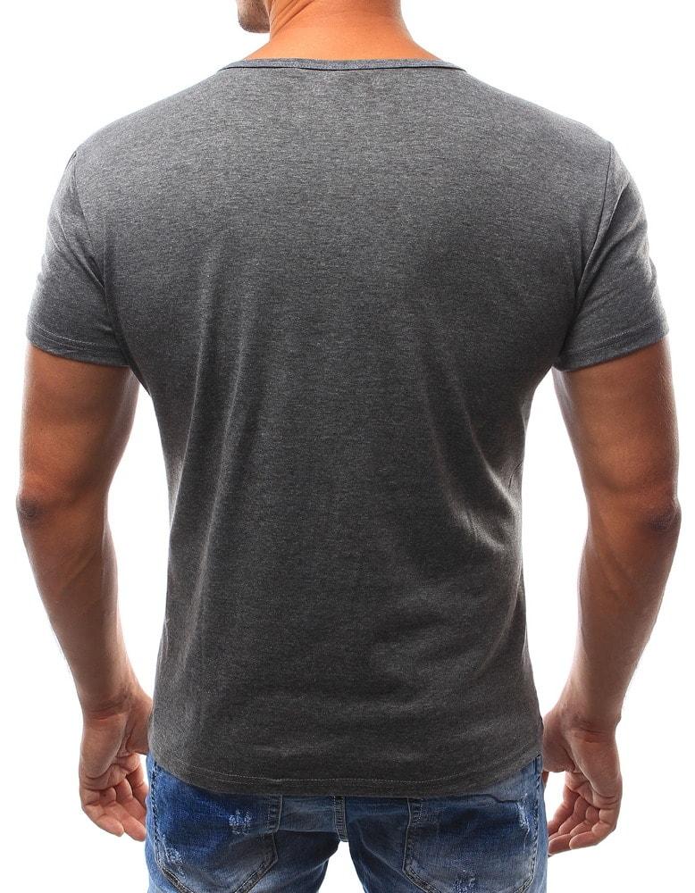 14e59f56a3ae3 Antracitové tričko pre pánov - Budchlap.sk