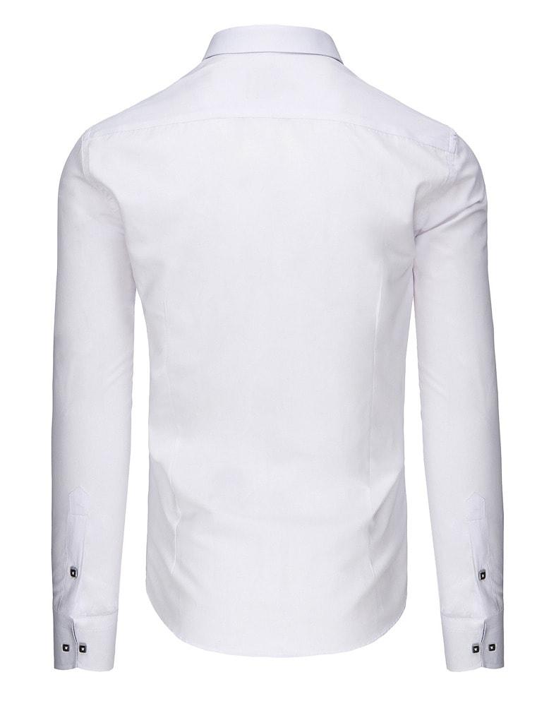 d813c3220b75 Originálna biela košeľa pre pánov - Budchlap.sk