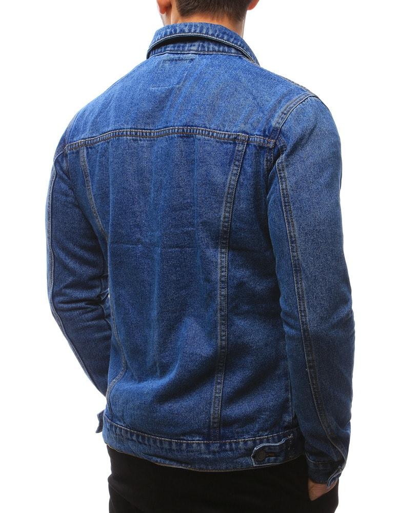 fd6fe39e2646 Jedinečná modrá rifľová bunda - Budchlap.sk