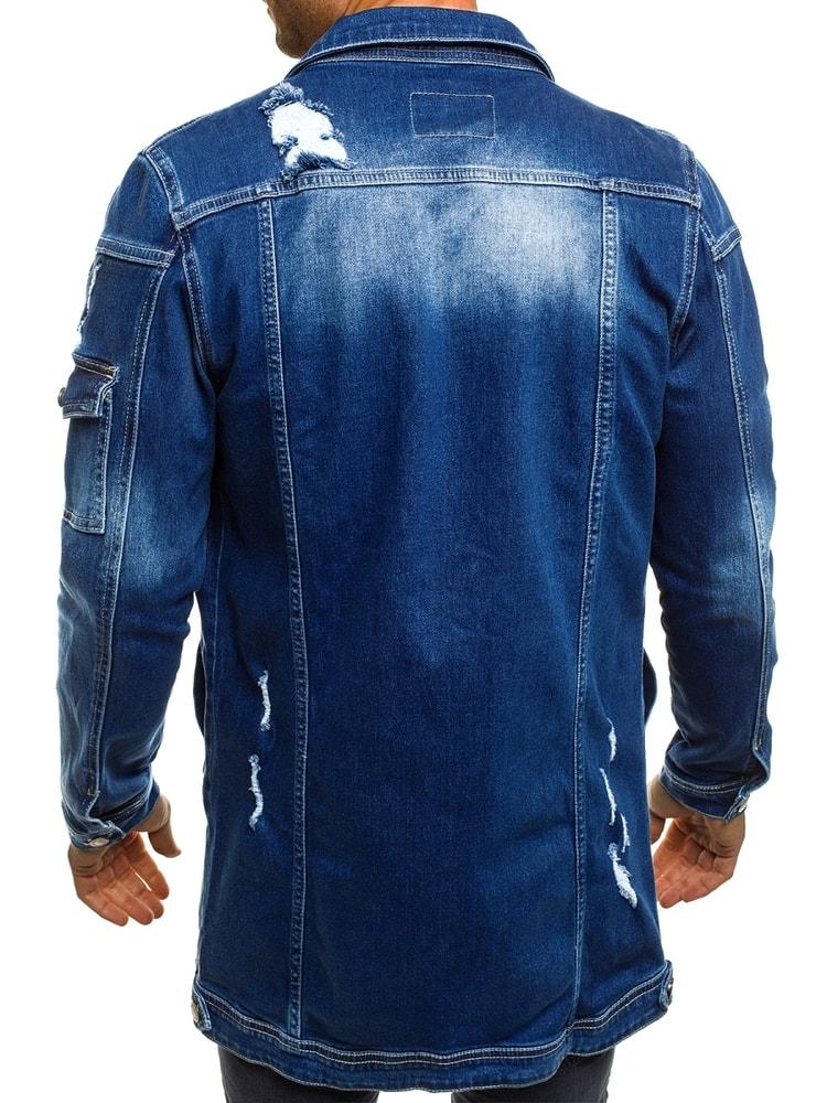 be96a88a3062 Pánska rifľová bunda nebesky modrá OTANTIK 474K - Budchlap.sk