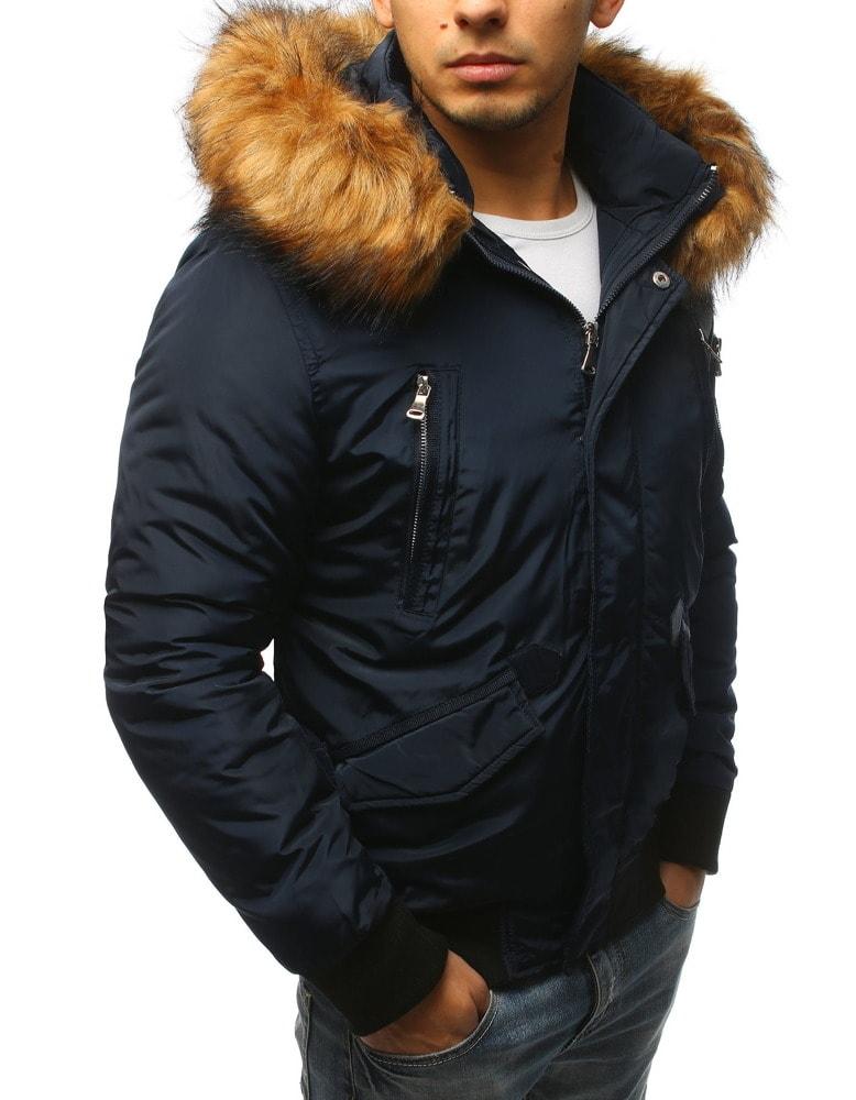 15aa8a0df9 Granátová zimná bunda v pútavom prevedení - Budchlap.sk