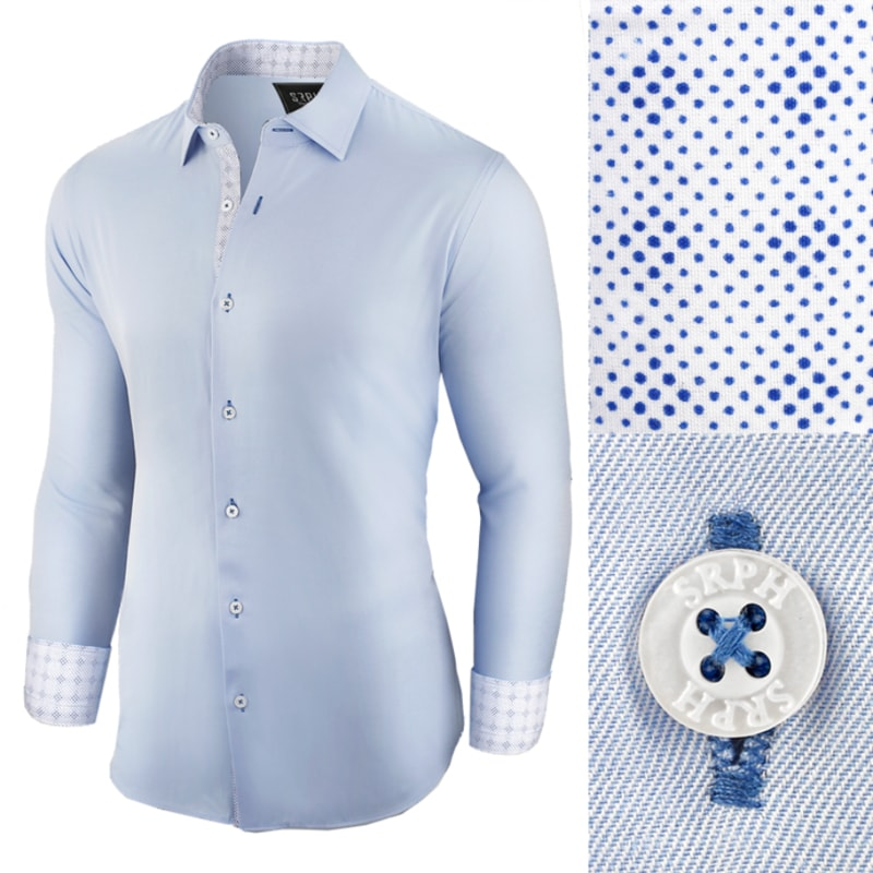 316bde36d715 Business modrá pánska košeľa - Budchlap.sk