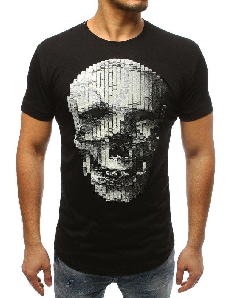 85ef7dde8 Zaujímavé čierne tričko s potlačou - Budchlap.sk