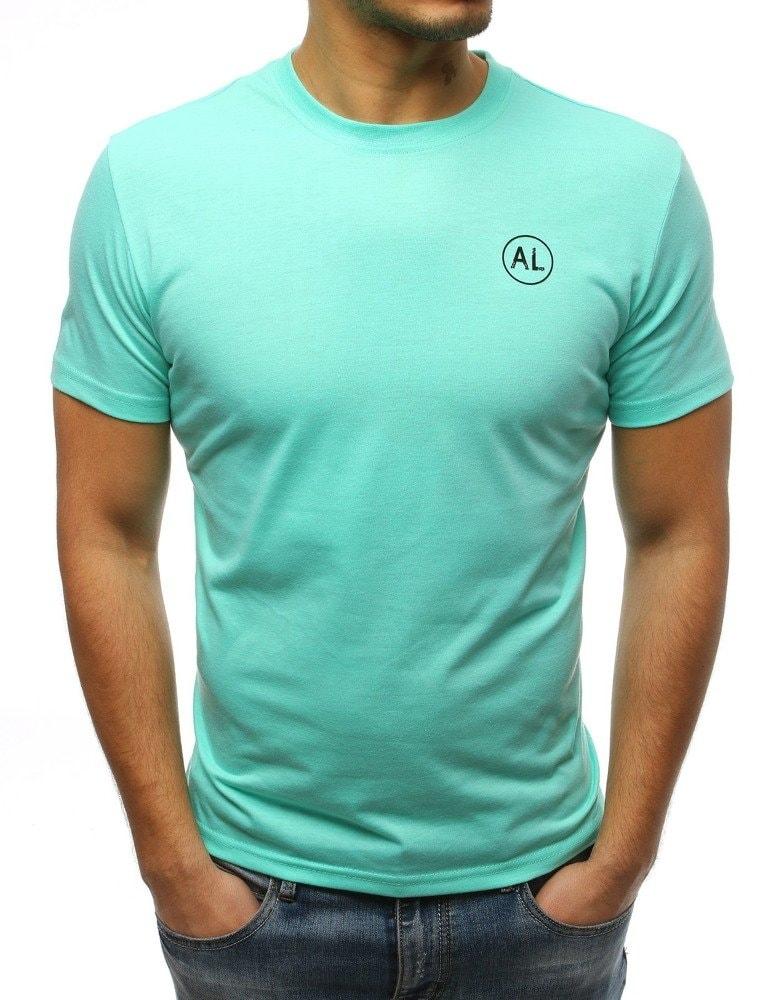 d63fb9e37d4e Moderné zelené tričko s potlačou - Budchlap.sk
