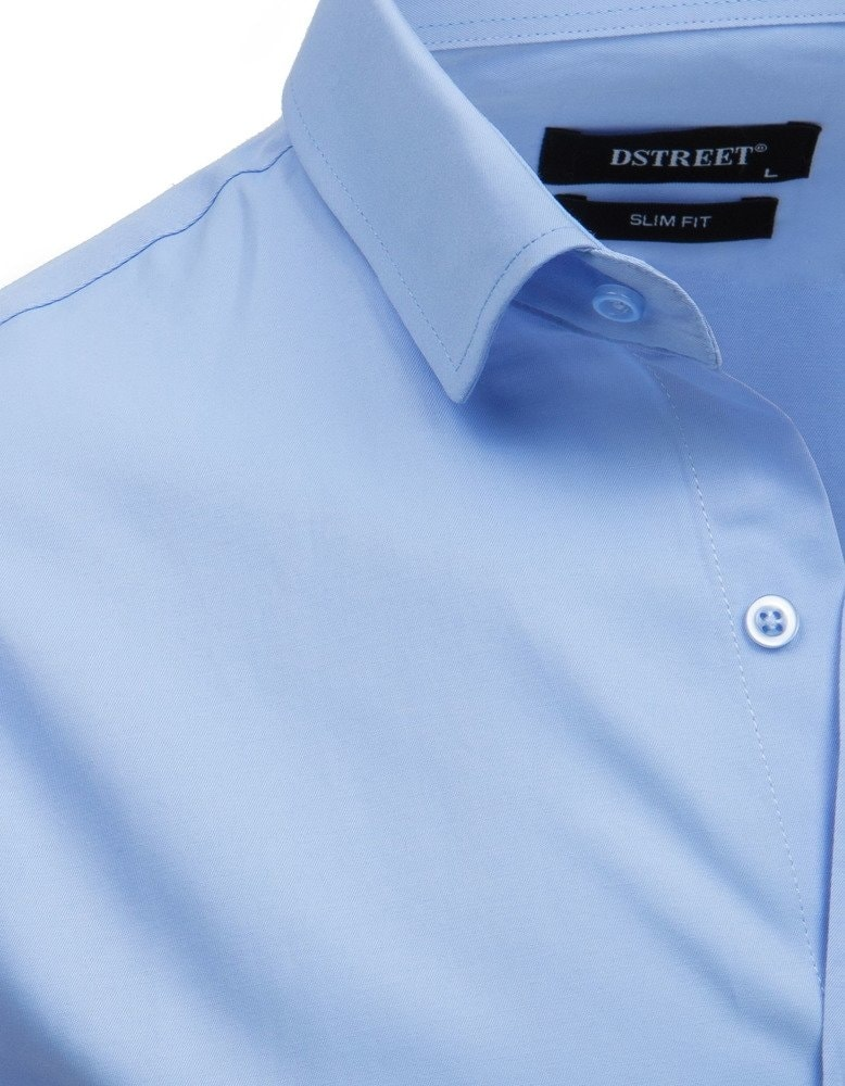 773ec899c Elegantná košeľa v modrej farbe - Budchlap.sk