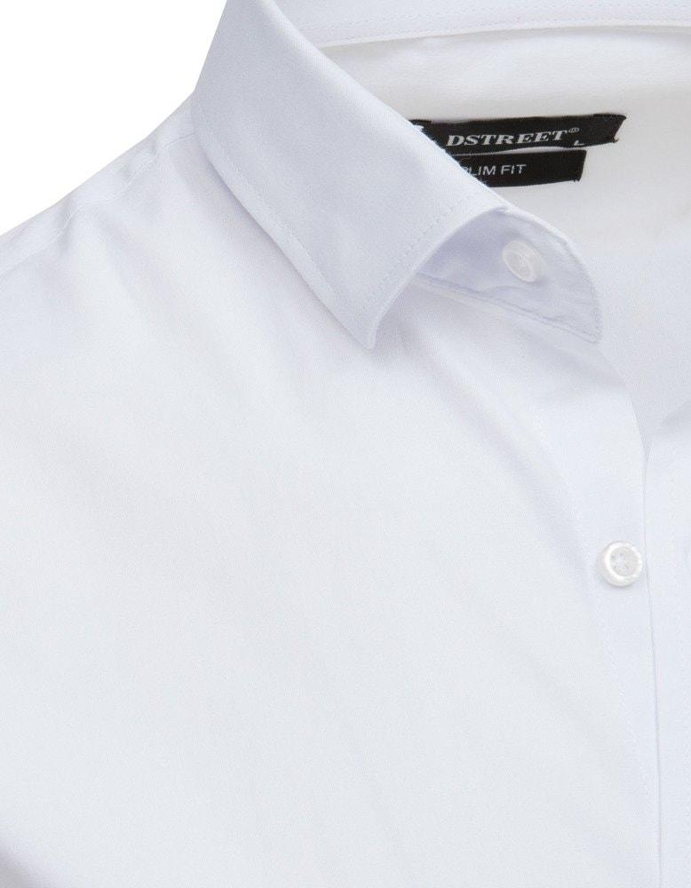 ba2834106b Elegantná biela košeľa s dlhým rukávom - Budchlap.sk