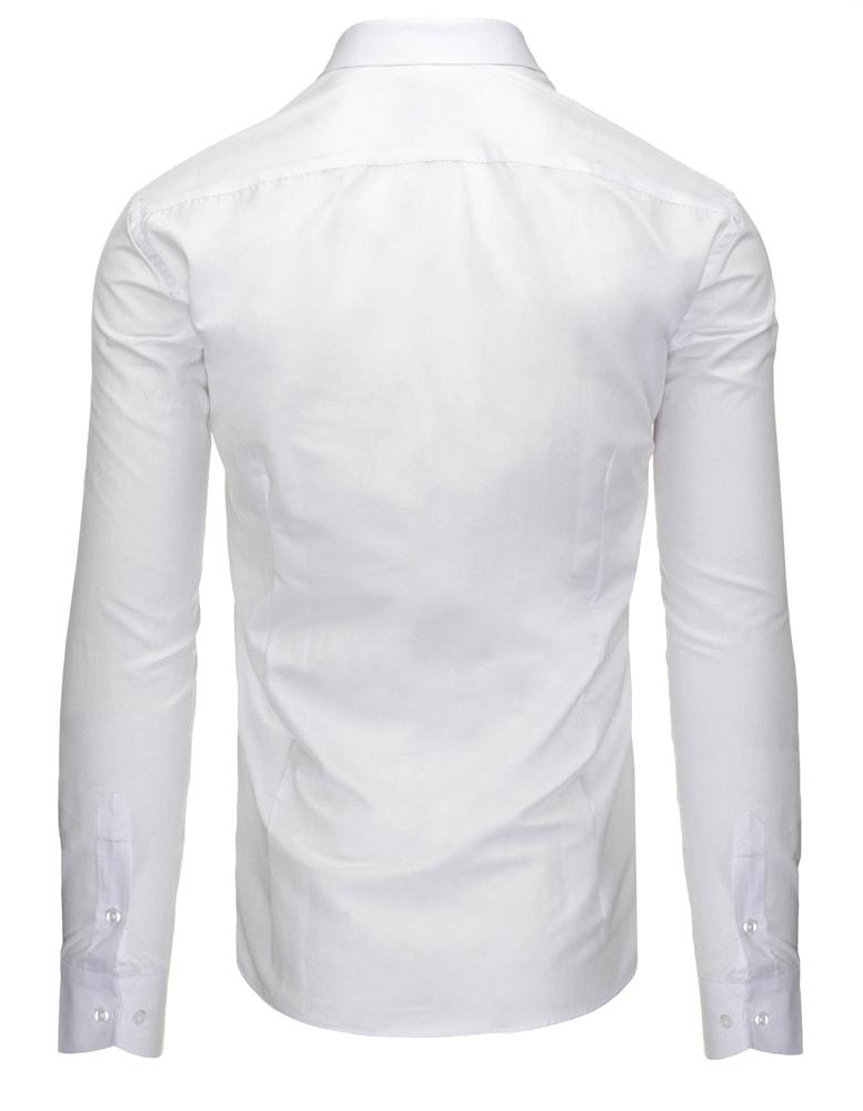 a68375305850 Krásna biela pánska košeľa na rôzne príležitosti - Budchlap.sk