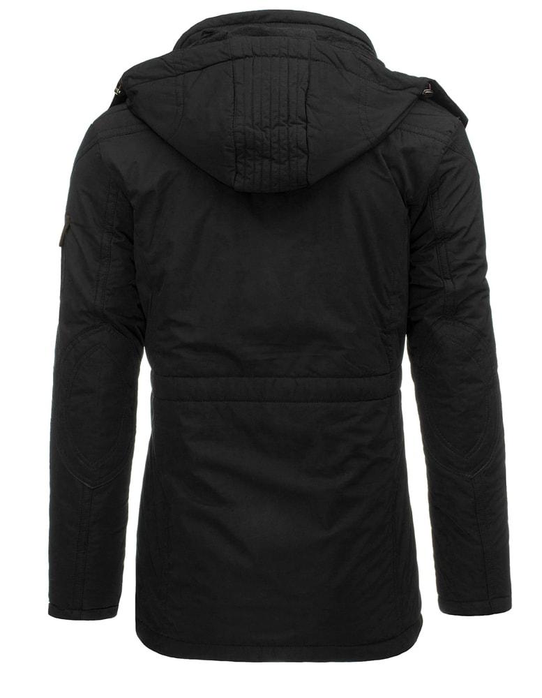 16dfccf687fa Fantastická čierna dlhšia bunda na zimu - Budchlap.sk
