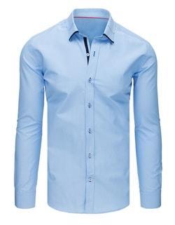 d99d6bdee Originálna košeľa v modrej farbe - Budchlap.sk
