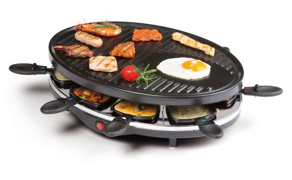 DOMO Raclette gril pro 8 osob - DOMO DO9038G