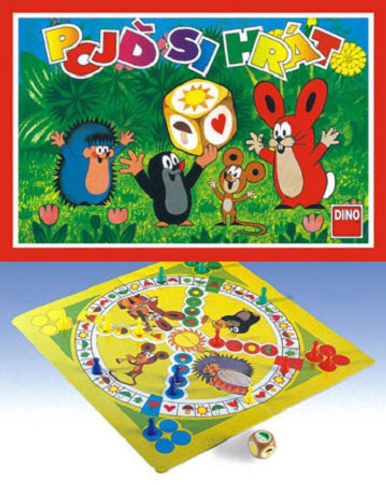 DINO Toys Hra Pojď si hrát - Krtek