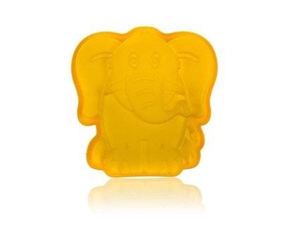 BANQUET Forma silikonová CULINARIA Yellow 19 x 19,6 x 4,4 cm, slon