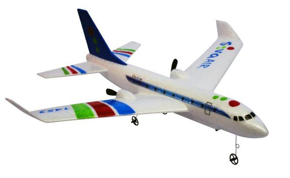 S-Idee RC Airbus RTF s gyroskopickou stabilizací, 2,4 GHz modrý