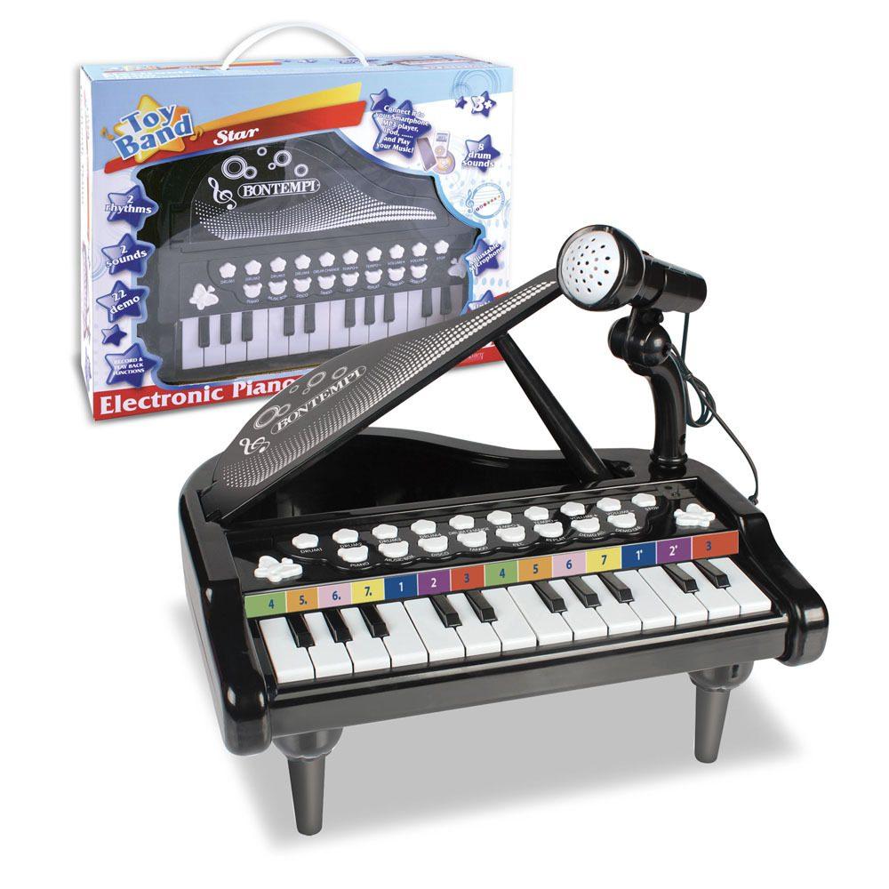 Bontempi Elektronické piano s mikrofonem