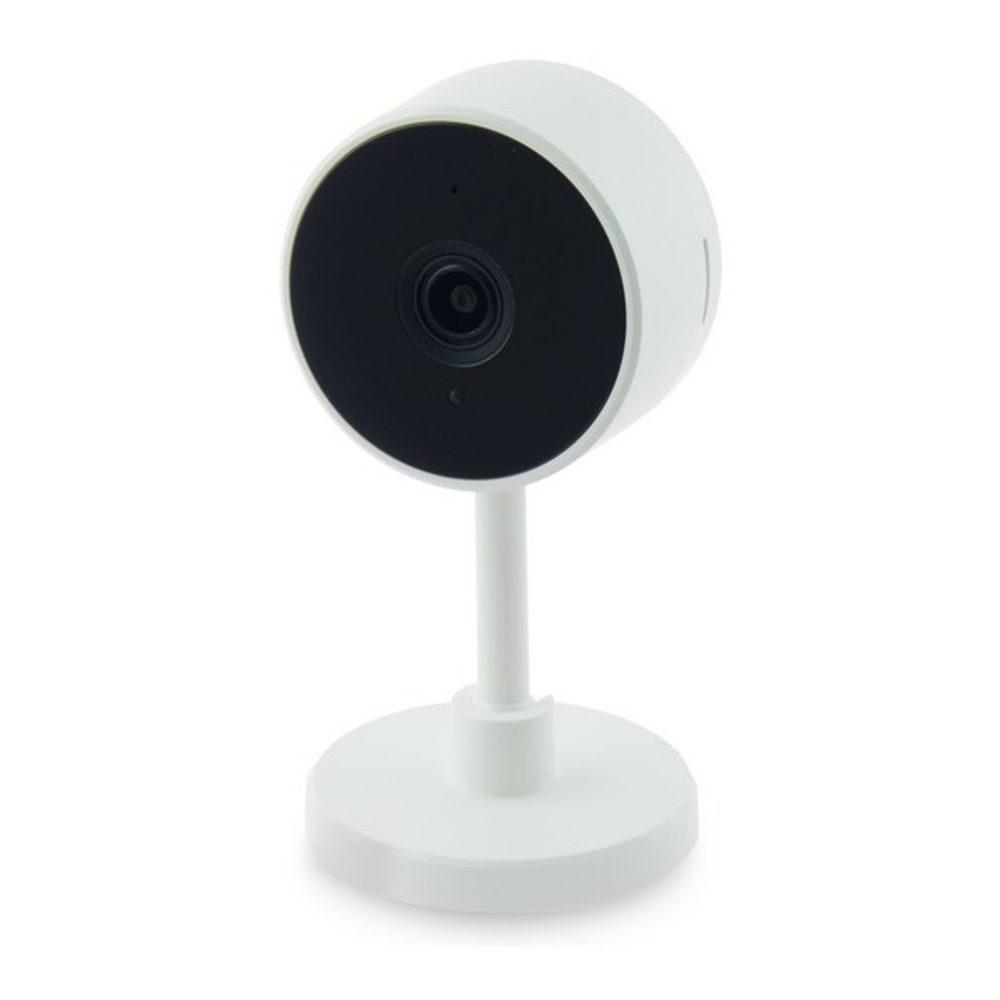 BigBuy Domotics IP Kamera Smart Home 2 MP 130º 128 GB WiFi Bílý