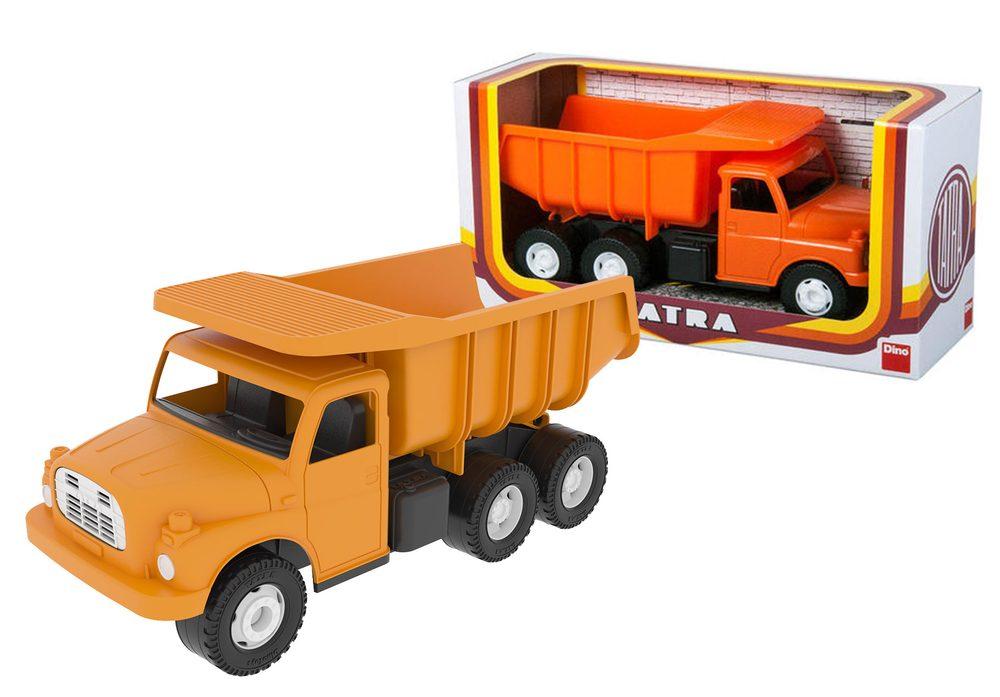 DINO Toys Auto Tatra 148 oranžová plastová 30cm