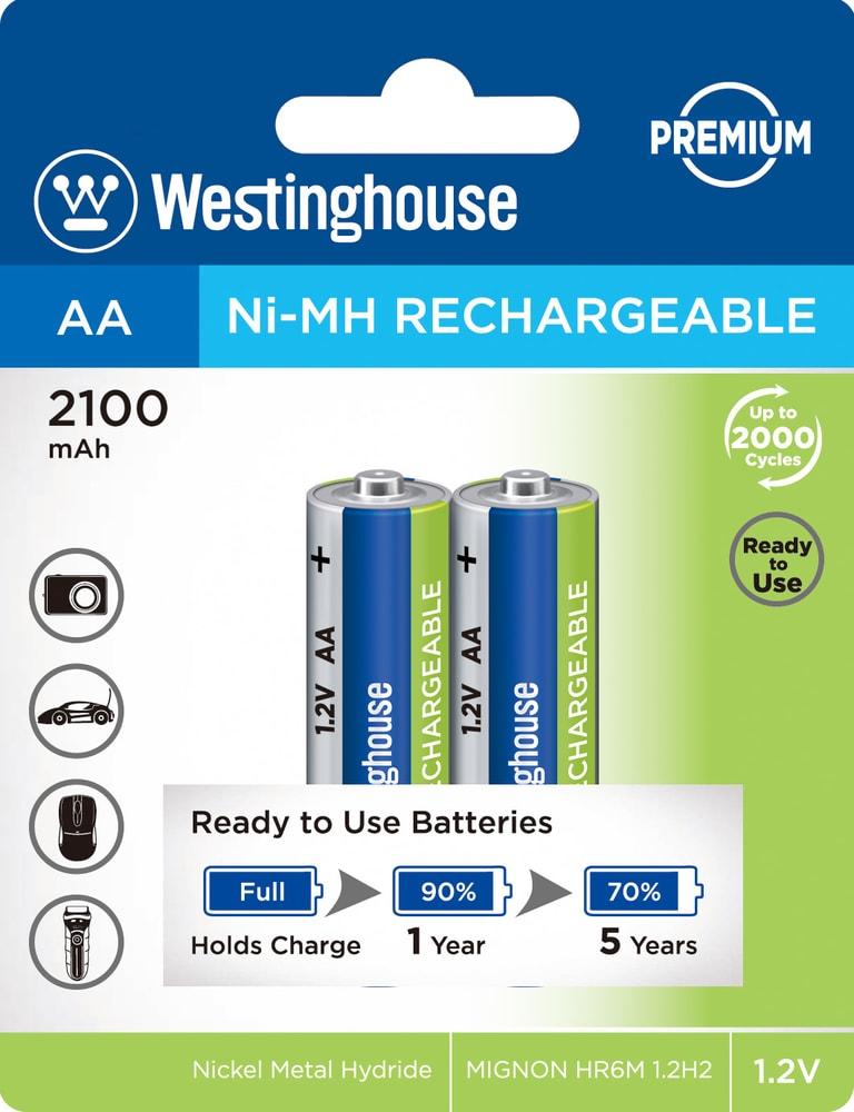 Baterie dobíjecí NiMH AA NiMH 2100mAh 1,2V, blistr 2ks