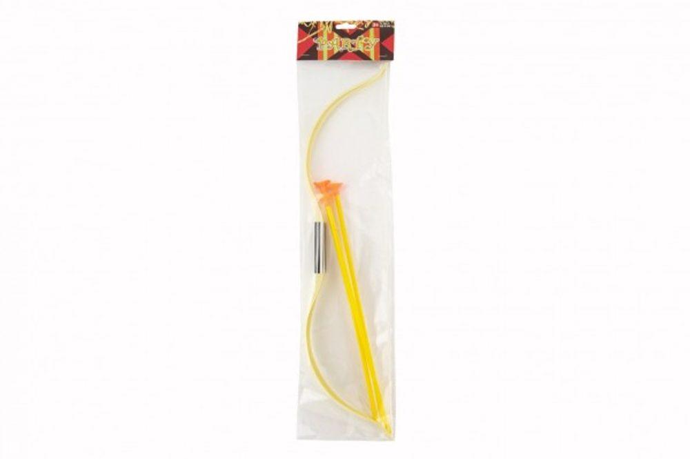 Teddies Luk 52cm + 3 šípy s přísavkou plast v sáčku