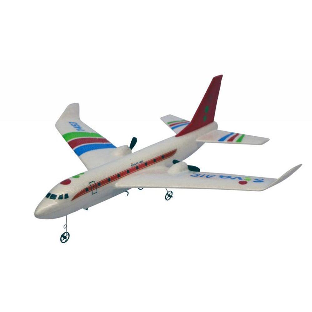 S-Idee RC Airbus RTF s gyroskopickou stabilizací, 2,4 GHz červený
