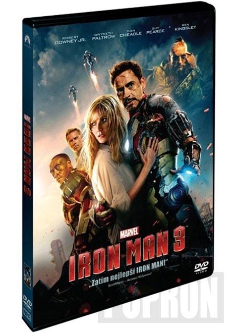 Iron Man 3, DVD