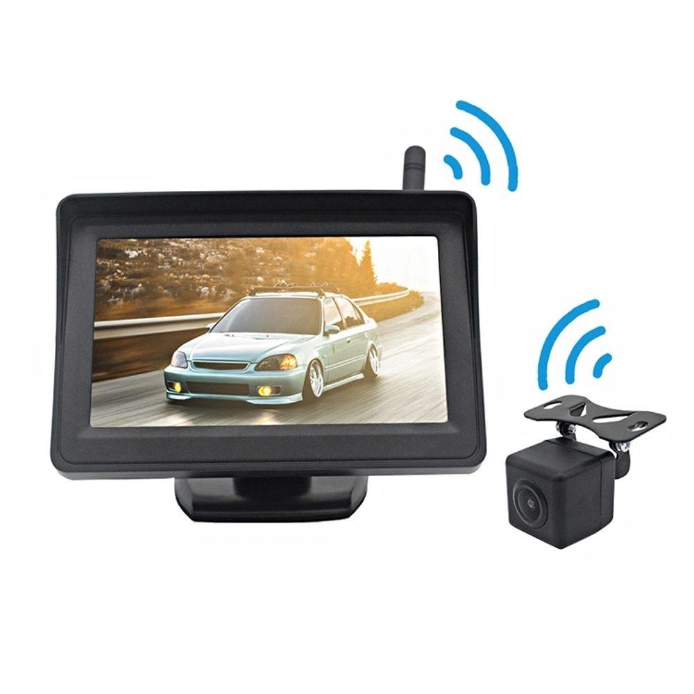 """Bezdrátová couvací kamera s monitorem LCD 4,3"""",2,4GHz"""