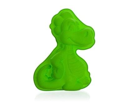 BANQUET Forma silikonová CULINARIA Green 24 x 17 x 4 cm, dráček